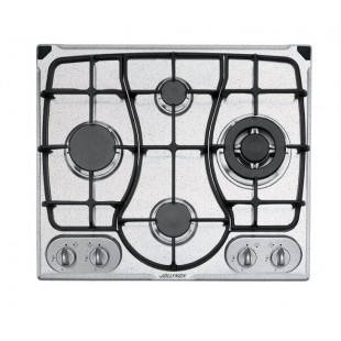 OMNIA 60 cm built-in hob 4 gas burners + Triple ring cast iron pan support - Snow Granite