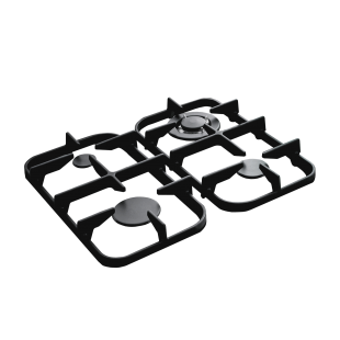 Griddle preparation and cast iron spartifiamma for 60 cm kitchens