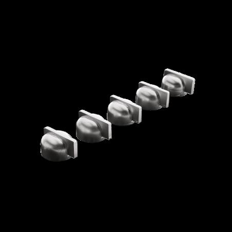 Series of rustic knobs