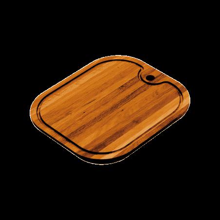 Rectangular iroko chopping board