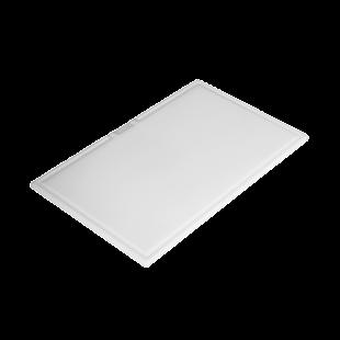 Rectangular polyethylene chopping board