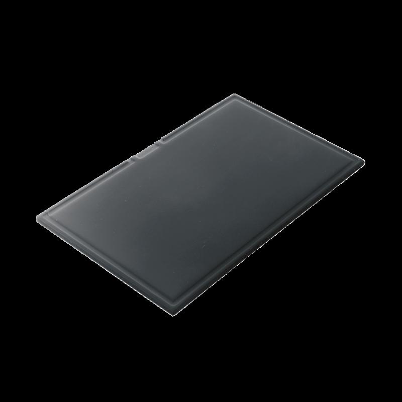 Rectangular chopping board in black HPL